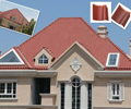What is the difference of the western style glazed tile and the Chinese glazed tile?